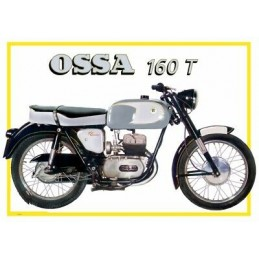 TUBO ESCAPE OSSA 160 T...