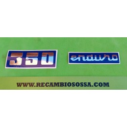 ADHESIVOS OSSA ENDURO 350...
