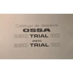MANUAL DESPIECE OSSA TR